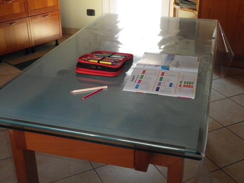 Tovaglia trasparente pvc for Tovaglie plastificate leroy merlin