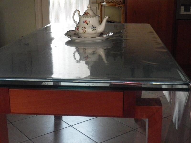 Protezione per tavolo in cristallo