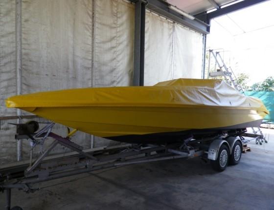 Telo impermeabile per barca anche ignifugo