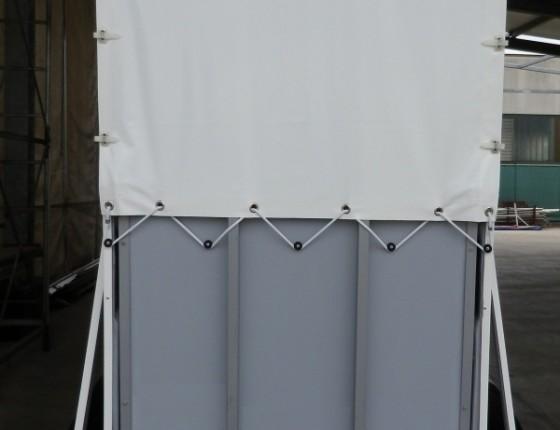 Telo per trailer equitazione